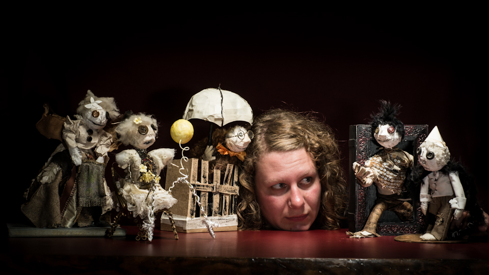 Fantasy and horror abound, local director's playful genius taps into creative doll art