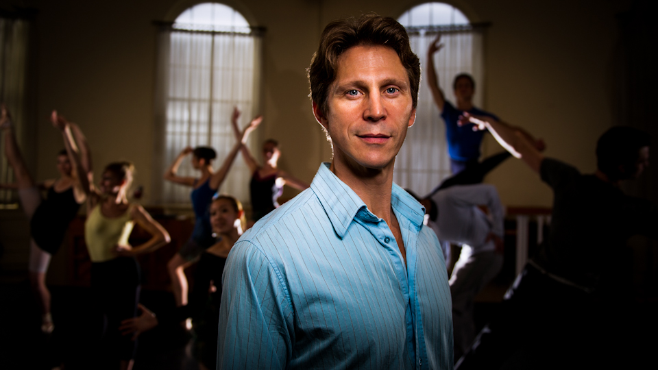 Thrilling audiences ballet director imparts his life's work to company dancers