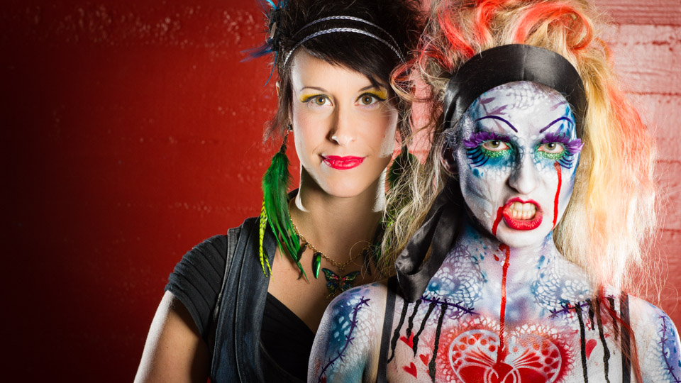 Zombie body paint artist Inspires others to contribute