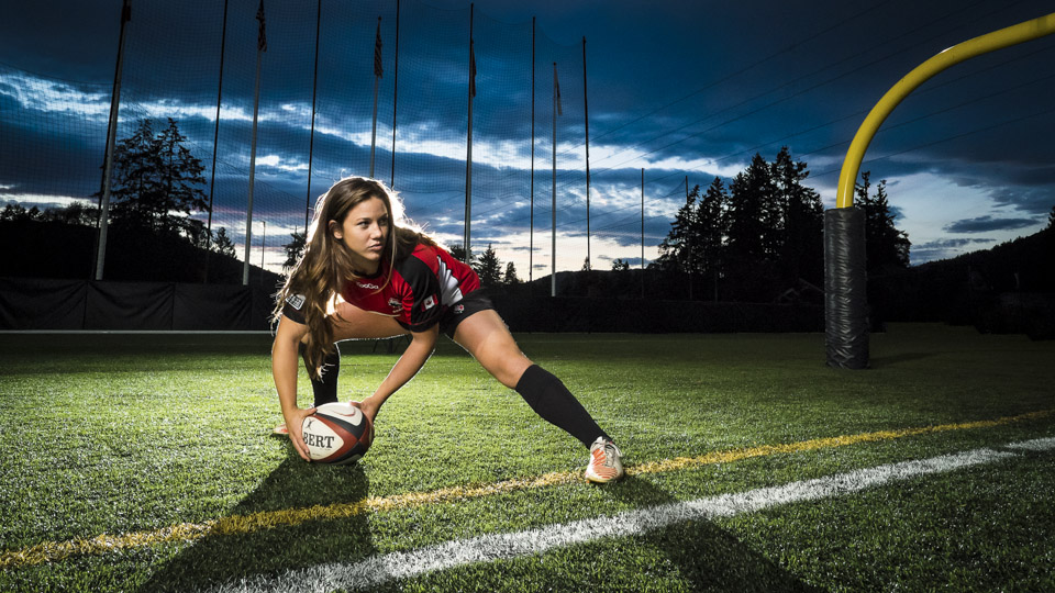 Local winger helps make history in women's rugby